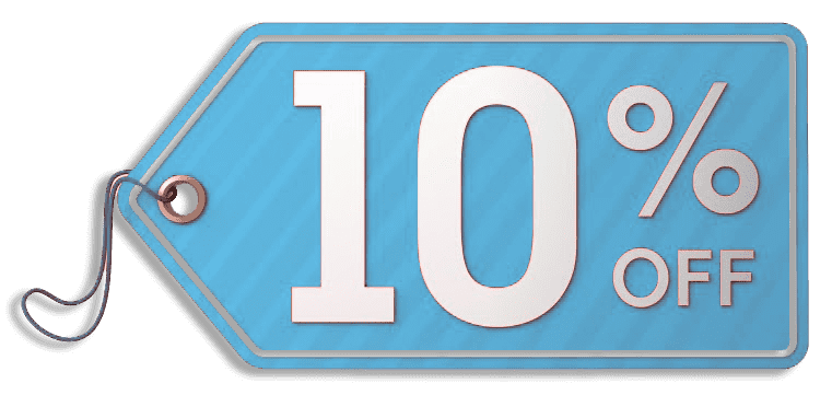 10% off coupon voucher